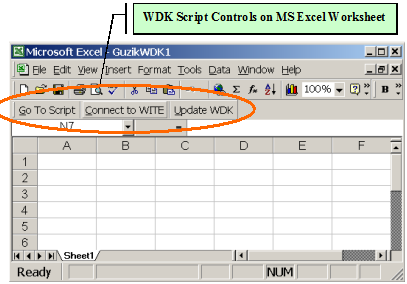 WDK Script: Microsoft Excel-Based Scripting For WITE32