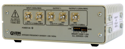Integer Frequency Divider 1-256, up-to 14GHz