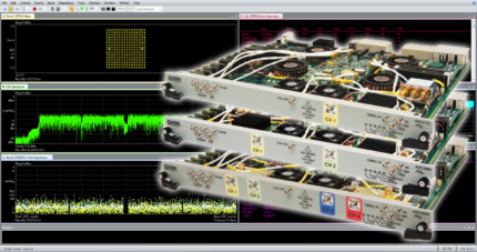 FPGA Accelerated RF Wideband Measurements