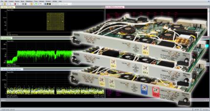 FPGA Accelerated RF Wideband Measurements